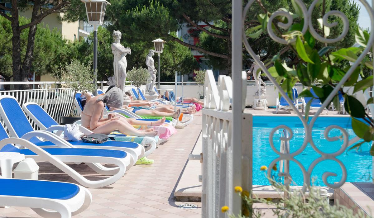 Piscina Hotel Trevi Jesolo