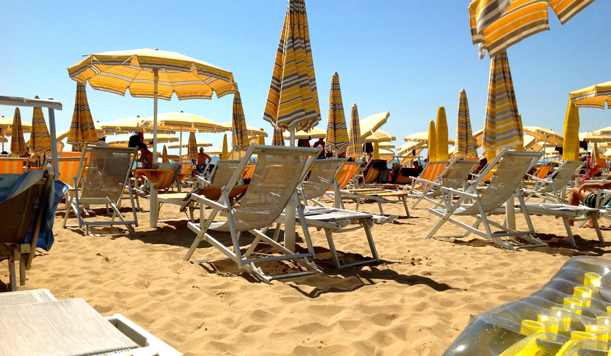 Private Beach Hotel Trevi Jesolo