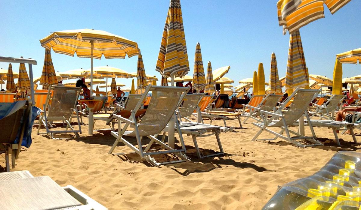 Spiaggia Privata Hotel Trevi Jesolo